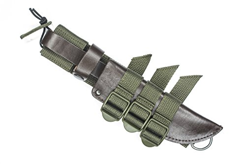 TEXXO MOLLE Knife Sheath Adapter Tactical Attachment Gear...