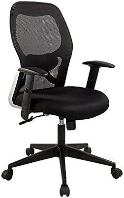 Medium Mesh Back Office Chair Black color