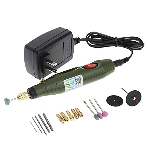 Yoohigh Handy Pen Shape Rotary Tool Grinding Milling Polishing Drilling Cutting Engraving Tool for Home use DIY Model etc.