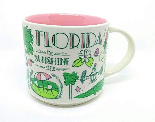 Starbucks FLORIDA Been There Series Across The Globe Collection Ceramic Coffee Mug