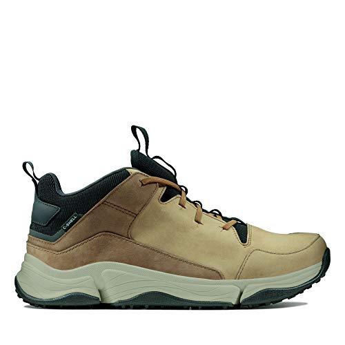 Clarks Herren Tri Path Mid Hohe Sneaker, Braun (Tan Combi Tan Combi), 47 EU