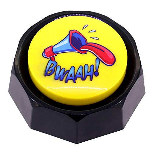 Z-DADA Air Horn Button - DJ Horn Sound Effect - Funny Gag Gifts - Noise Maker (Battery Included) (Air Horn Button)