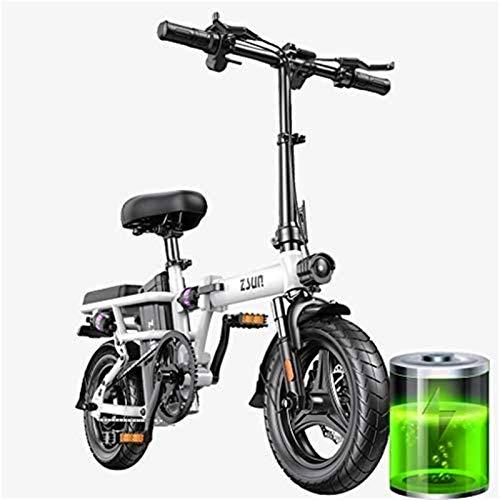 Bici electrica, Adultos Forma de Bicicleta eléctrica Vespa Velocidad máxima 25 kmh...