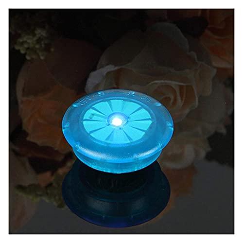 電池の自転車の光のライトタイヤバルブキャップホイールスポークLEDバイクライト山ロードバイク自転車アクセサリー// 42 BY CHJBD (Color : Blue)