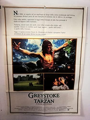 Cartel 2 piezas - Greystoke, la leyenda de Tarzan - El señor de los monos - Hugh Hudson - Christopher Lambert