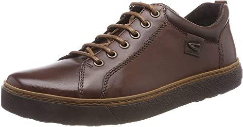 camel active Herren Cricket 12 Sneaker, Braun (Chestnut/Mocca 3), 43 EU (9 UK)