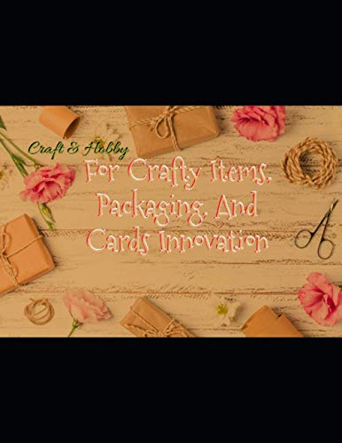 For Crafty Items, Packaging, And Cards Innovation