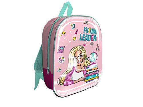 Mc 6D Barbie Rucksack für Kinder, 32 cm, Rosa