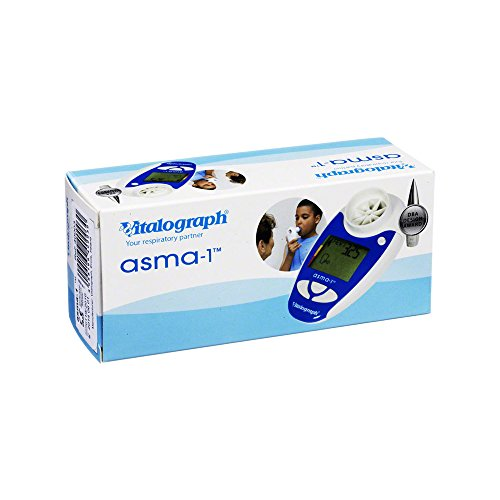 Asthma-Monitor, Vitalograph asma-1, zur Messung der Einsekundenkapazität und des Peak Flows (FEV1 & PEF), für Kinder geeignet