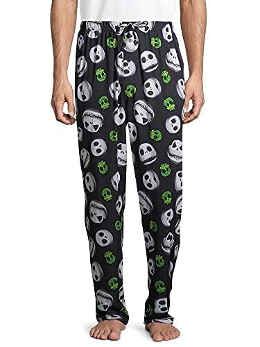 Disney Men's Nightmare Before Christmas Jack Allover Print Pajama Pants