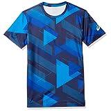 [アシックス] トレーニングウエア JP グラフィック半袖シャツ 2031B332 メンズ ピーコート 日本 L (日本サイズL相当)