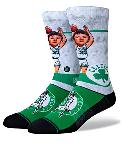 Stance Calcetines Nba Boston Celtics Larry Bird Big Head Negro 42-46 EU