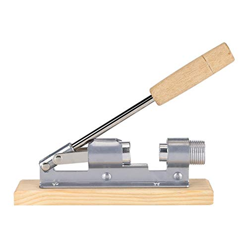 Bracon Nussknacker – Mechanischer Walnuss-Knacker, Nussöffner, Küchenwerkzeuge, Holzsockel und Griff