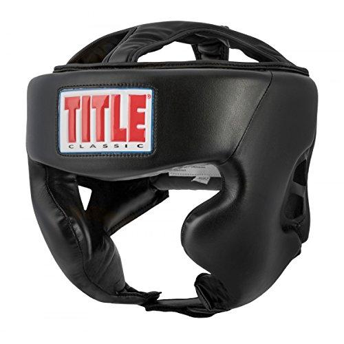 Title Classic Hi-Performance Headgear 2.0, Black, Adult