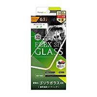 Simplism iPhone XR [FLEX対応 3D] Gorillaガラス 複合フレームガラス ホワイト