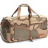 Waynorth 65L Bolsa de Viaje Plegable con Compartimento Bolsa de Deporte Impermeable Ligera Bolsa de Fin de Semana para Hombres Mujeres