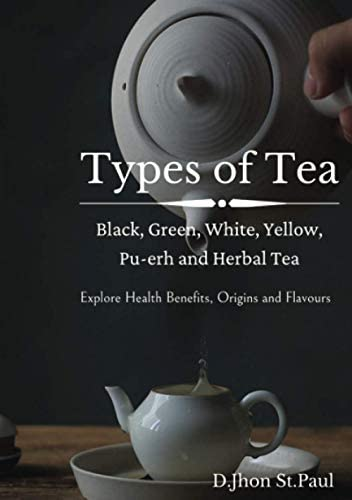 Types of Tea Black Green Yellow Oolong White Pu erh and Herbal Tea product image