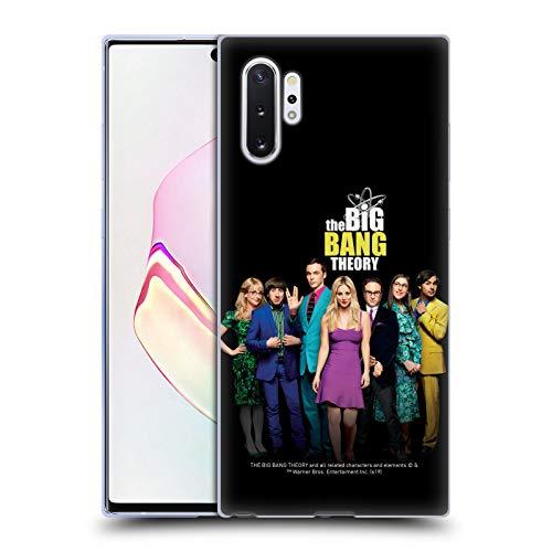 Head Case Designs sous Licence Officielle The Big Bang Theory Saison 11 B Art Clé Coque en Gel Doux Compatible avec Samsung Galaxy Note10+