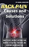 Back Pain Causes and Solutions: Simple Secret On How To Retrain Your Nervous System, Heal Your Body, and Overcome Chronic back pain (English Edition)