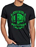A.N.T. Swordfighter Smash Camiseta para Hombre T-Shirt Ultimate Brothers Super Switch Brawl, Talla:S, Color:Negro