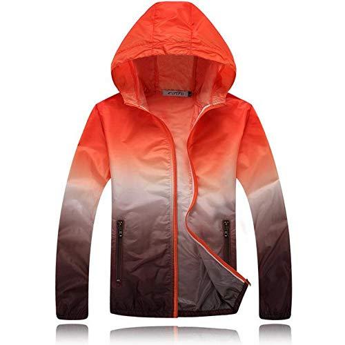 SHUHANX Vestes De Cyclisme Ultralight Hommes Femmes Sun-Protective Running Jacket Skin Coat Outdoor Sport Fishing Trekking Hiking Windbreaker Cycling Jersey Showed_M