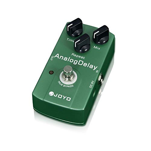 JOYO JF-33 Analog Delay Pedal Effect Mild and Mellow Circuit Delay Effect Guitar Pedal for Electric Guitar True Bypass