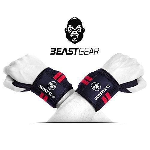 PERCHÉ hai bisogno delle fasce per i polsi Beast Gear - Hai bisogno di un supporto extra per sollevare pesi pesanti e raggiungere i tuoi obiettivi. I VANTAGGI delle fasce da polso per sollevamento pesi Beast Gear - Proteggono i tuoi polsi da lesioni ...