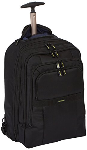 "Samsonite Infinipak Laptop Backpack/WH 17,3"" Exp Mochila Tipo Casual, 32 litros, Color Negro/Negro"