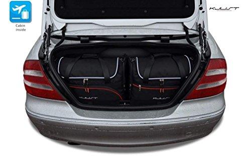 KJUST Autotaschen 4 STK kompatibel mit Mercedes-Benz CLK Cabrio W209 2002-2010