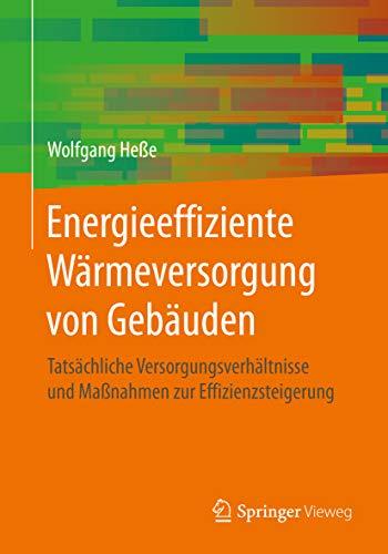 Energieeffiziente Wärmeversorgung von Gebäuden: Tatsächliche Versorgungsverhältnisse und Maßnahmen zur Effizienzsteigerung