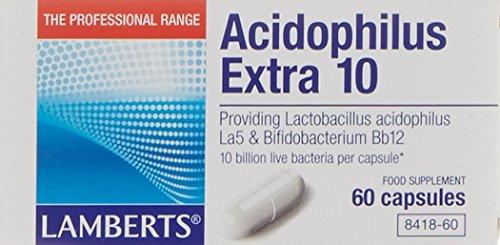 Lamberts Acidophilus Extra 10-60 Cápsulas