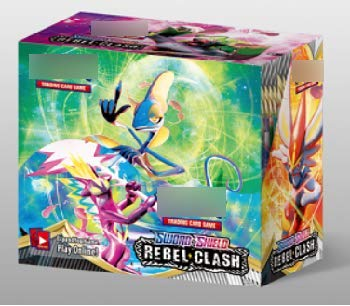 YNK 324pcs karten Set, Spielkarten mit EX Karten & GX Karten & MEGR Karten, Trading Card game Sammelkarten, Sword Shield Rebel Clash Booster Box für Party Kinder (D)