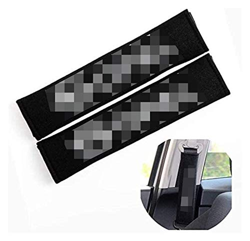 Cubiertas de cinturón de seguridad ajustables, almohadillas de cinturón de asiento de hombro bordados con hombro protector de automóviles para OP-EL OPC ASTRA G H PORSA D INSIGNIA MOKKA ZAFIRA Coche d