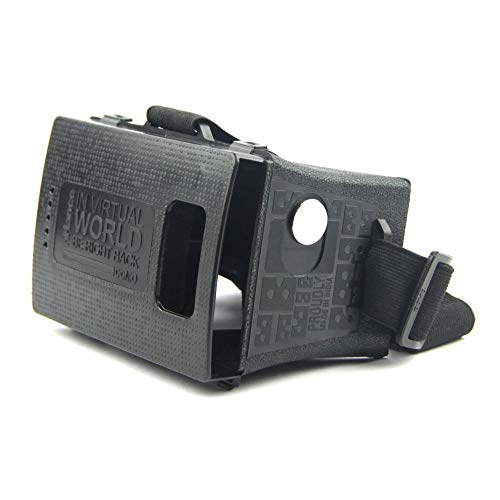 DOMO nHance VRF3 VR Headset with Headstrap for All Smart Phones which has Upto 6-Inch LCD Screen