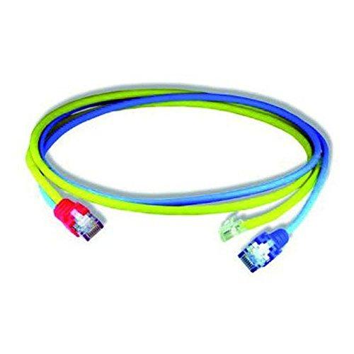 Homeway HW-Y-Kabel14 LAN/RJ11 HCAHNG-B4106-A010 1,0m bl/ge Patchkabel Kupfer 4250679713138