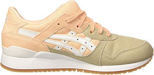Asics Damen Gel-Lyte Iii Turnschuhe, Orange (Bleached Apricot/white), Gr . 37