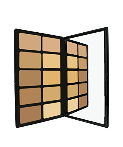 CREAM TO POWDER PALETTE - LIGHT TO MEDIUM by Sacha Cosmetics