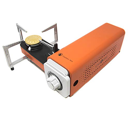 GasOne GS-8300 - Camp Stove Compact Butane Stove with Carrying Case - Foldable Portable Stove