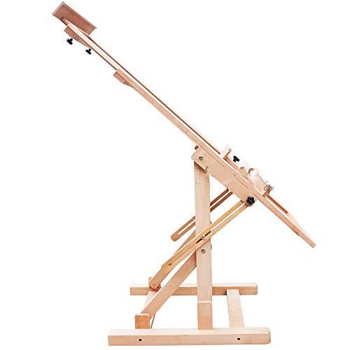 BAI Kinder Staffelei Großformatige, ausgewogene Staffelei kann hoch & runter verwendet werden. Dual-Use-Staffelei 65 * 60 * 142Cm Sketchpad