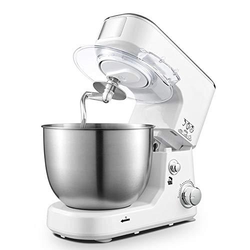 Robot Pâtissier Multifonction Robot Petrin Kitchencook Avec Batteur K, Crochet Pétrisseur, Fouet Et Bol De 4 Litres, Système De Mélange Planétaire, Parfait Pour La Cuisine À Domicile