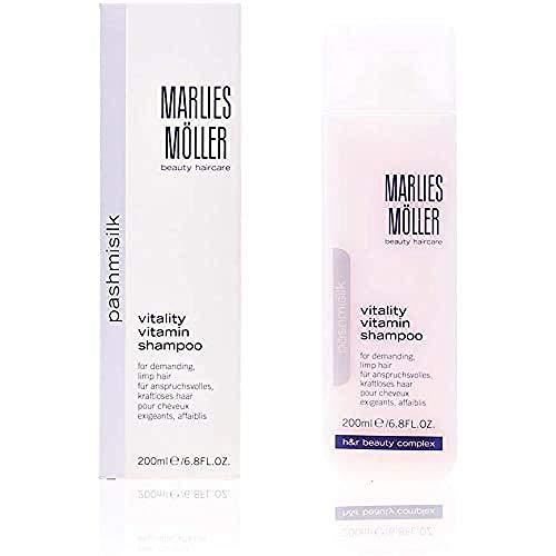 MARLIES MÖLLER Pashmisilk Vitality Vitamin Shampoo, 1er Pack (1 x 200 ml)