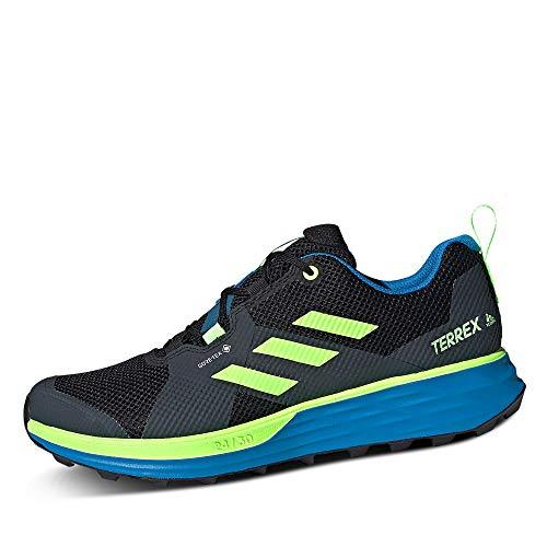 adidas Terrex Two GTX, Zapatillas de Running Hombre, NEGBÁS/VERSEN/AZUBRI, 47 1/3 EU