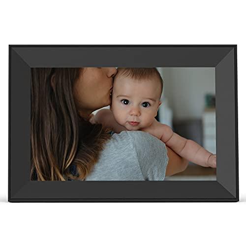 Aura Carver Smart Digital Picture Frame 10.1 Inch HD WiFi Cloud Digital Frame Free Unlimited Storage...