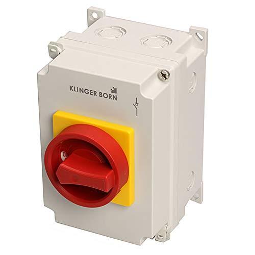 Hauptschalter, Not-Aus-Schalter bis 7,5kW 16A 400V/AC-3