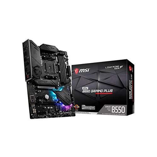 MSI MPG B550 Gaming Edge WiFi AMD AM4 DDR4 M.2 USB 3.2 Gen 2 WLAN 6 HDMI ATX Gaming Motherboard
