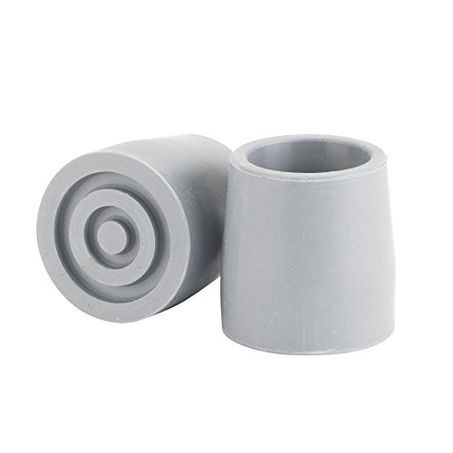 Drive Medical Utility Replacement Tip, Gray, 1-1/8 Inch