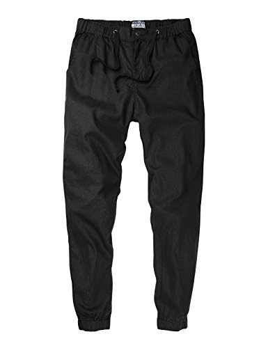 Match Men's Regular Fit Chino Jogger Cargo Pant (34W x 33L, 6539 Army gray)