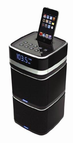 Logic3 i-Station Tower - Sistema de altavoces de 3 piezas compatible con...