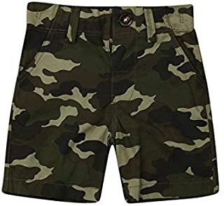 Toddler Baby Boy Shorts, Camo Pants Bottoms Trousers with Pocket