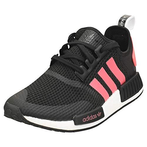adidas FV9153-10, Zapatillas para Correr Unisex Adulto, Core Black Signal Pink FTWR White, 44 2/3 EU